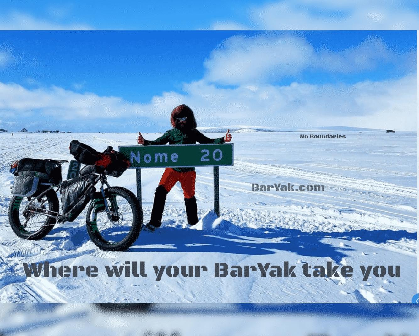 Bar Yak Nome Sign